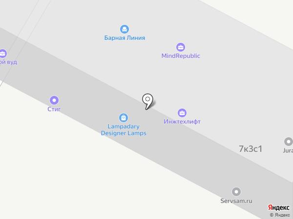 FG agency на карте Москвы