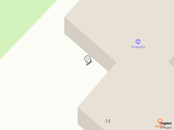 Усадьба на карте Архангельского