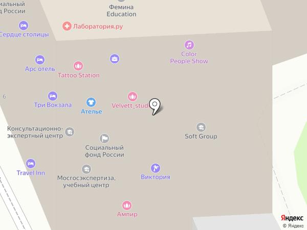 Dress Code Rent на карте Москвы