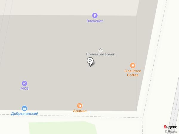 Магазин сухофруктов на карте Москвы