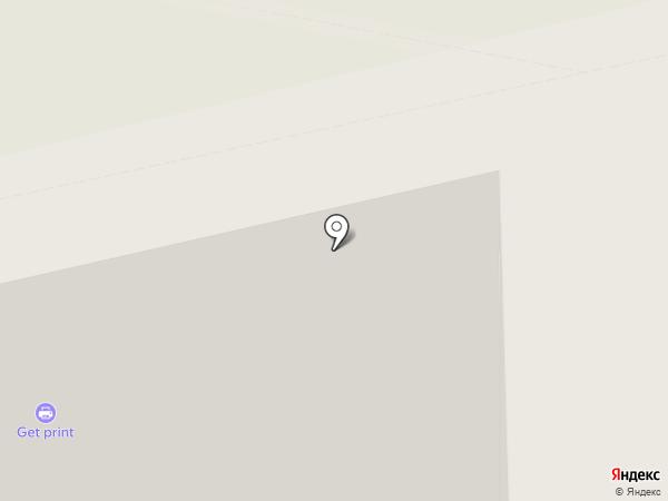 MosVisa на карте Москвы