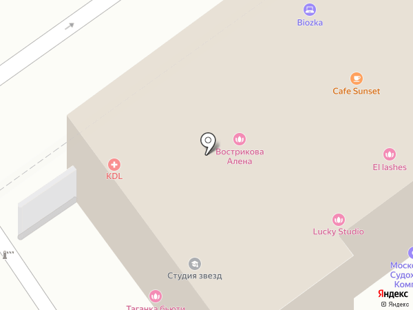 FILLER-CLINIC на карте Москвы