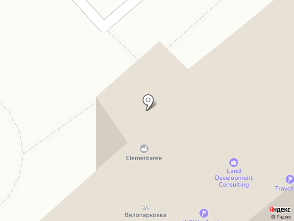 Platinum Club на карте Москвы