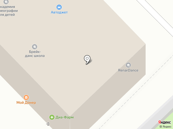 Мини-пекарня на карте Москвы