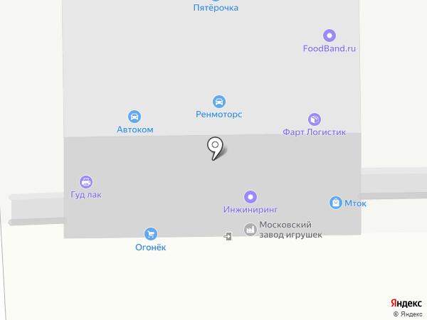 Lufter на карте Москвы