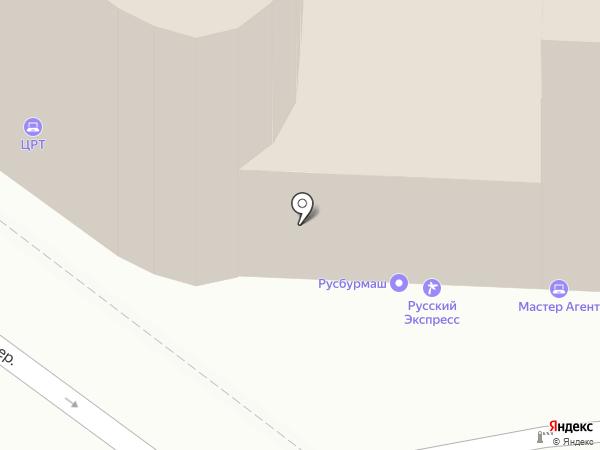VVV на карте Москвы