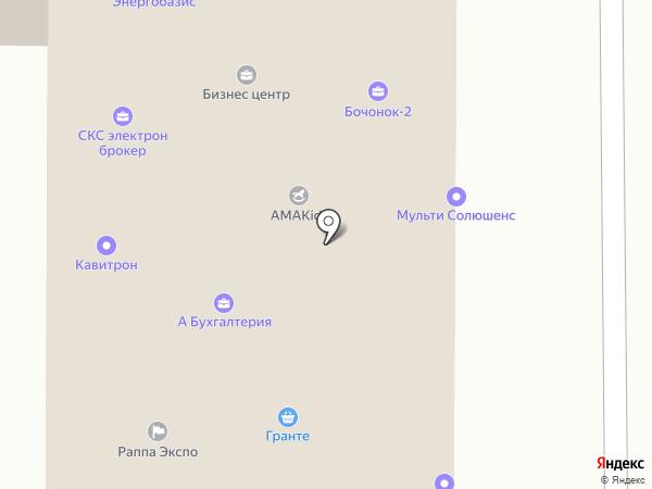 Бухгалтерская компания на карте Москвы