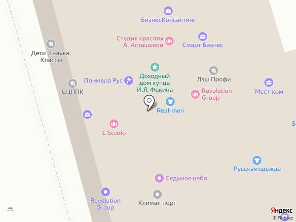 Бархатов и Партнеры на карте Москвы