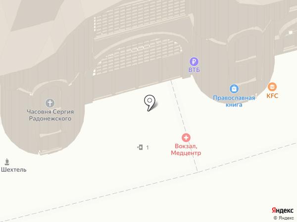 IL Патио на карте Москвы