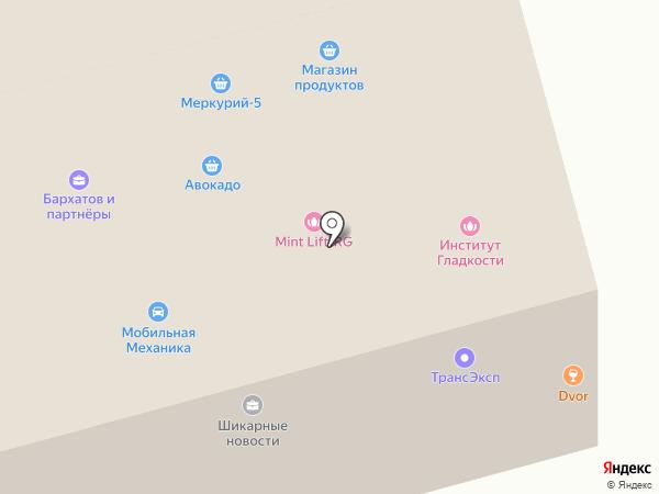 Графика-Н на карте Москвы