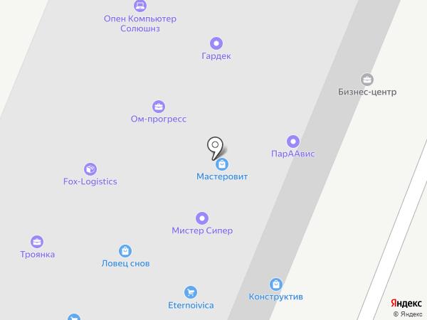 Империя Строй на карте Москвы