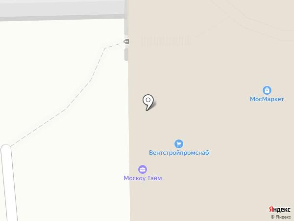СПС на карте Москвы