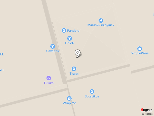 Express Nails на карте Москвы