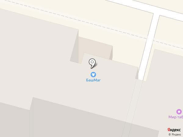 БашМаг на карте Москвы
