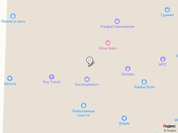 Ломбард Меридиан на карте Москвы