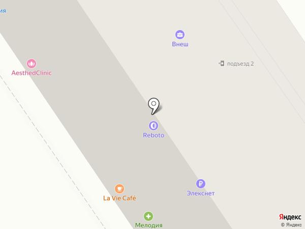 Камелия на карте Москвы