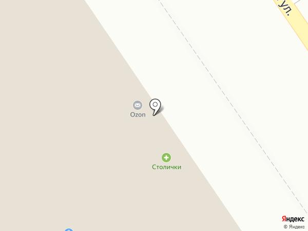 Магазин домашней обуви на карте Москвы