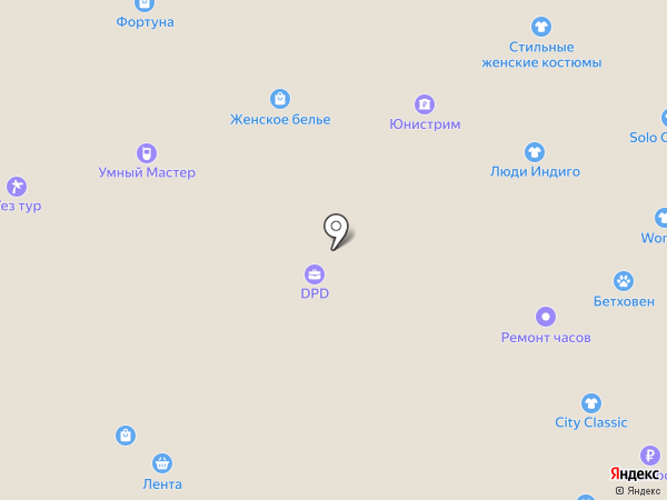 SayUp на карте Москвы