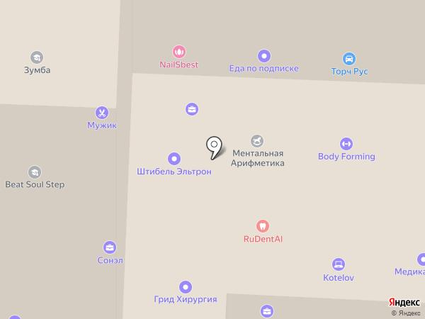 БестМебелик на карте Москвы