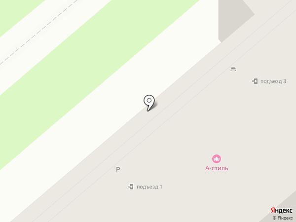 А-стиль на карте Тулы