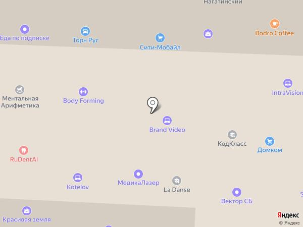 Moltimoda на карте Москвы