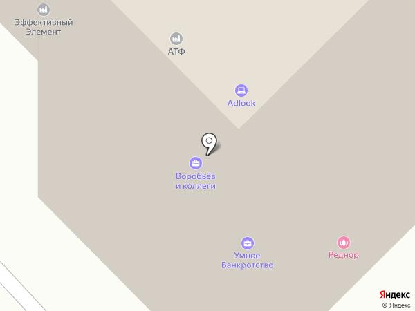 tfLine на карте Москвы