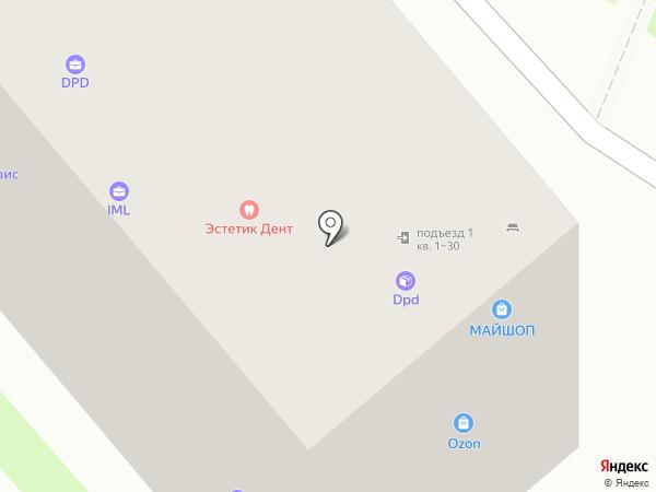 Уютный дом на карте Тулы