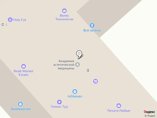 Parikmag.ru на карте Москвы