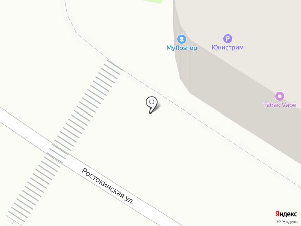 Юрьевская буренка на карте Москвы