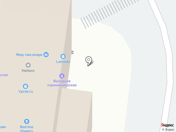 Мирапластик на карте Москвы