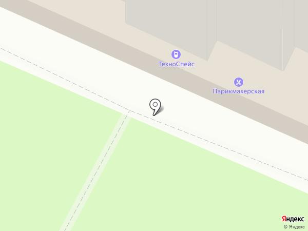 Юконис на карте Москвы