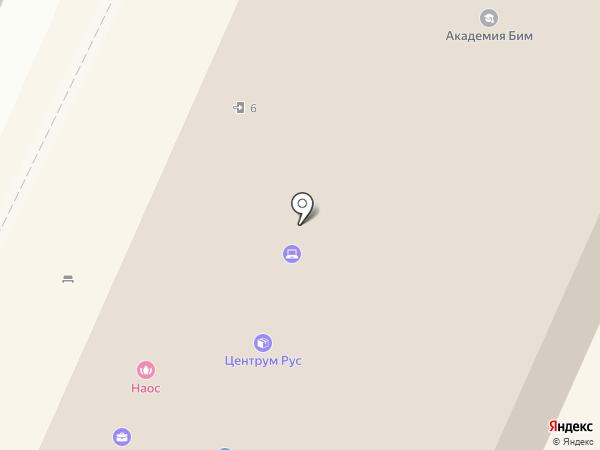 Via Delle Perle на карте Москвы