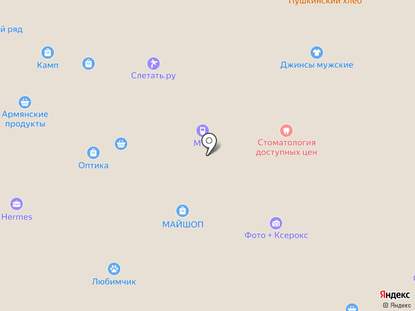 Taller на карте Москвы