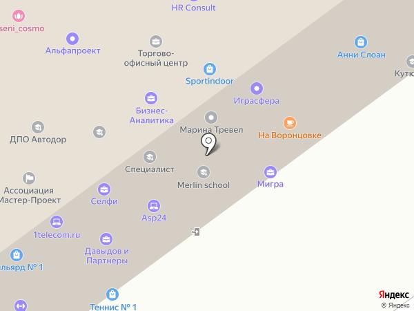 StudentLand на карте Москвы