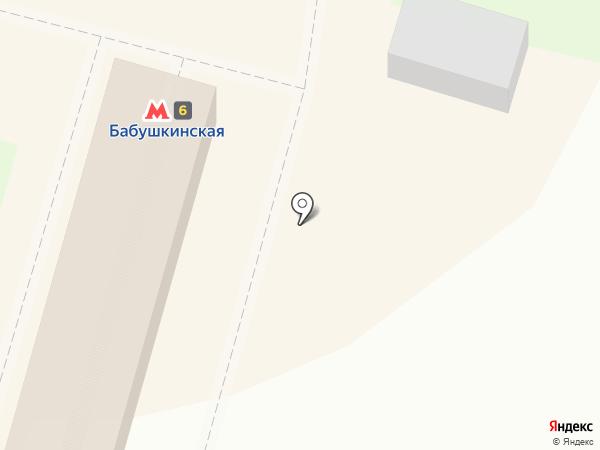Центр страхования на карте Москвы