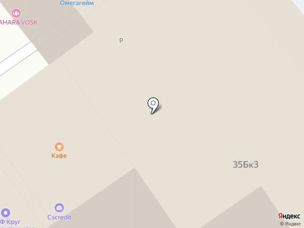 Ланч Холл на карте Москвы