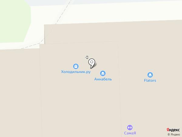 Мебель братьев Баженовых на карте Тулы