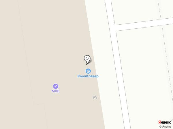 Reebok CrossFit на карте Москвы