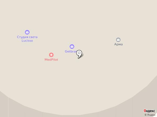 Totallook на карте Москвы