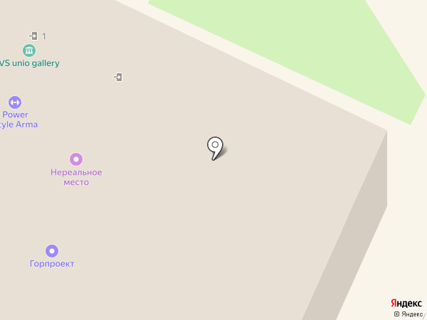 ГОРПРОЕКТ, ЗАО на карте Москвы