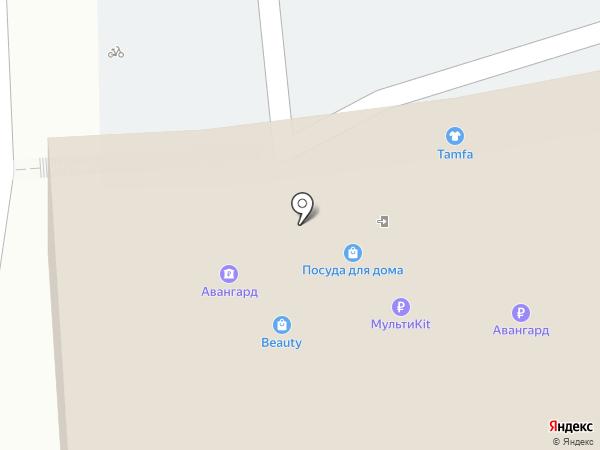 Альфа Порте на карте Тулы