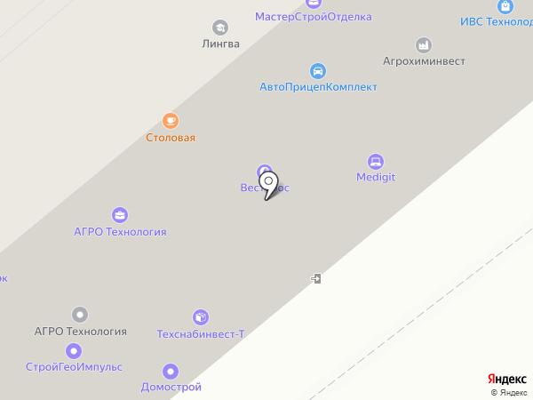 Эталон Сталь на карте Москвы