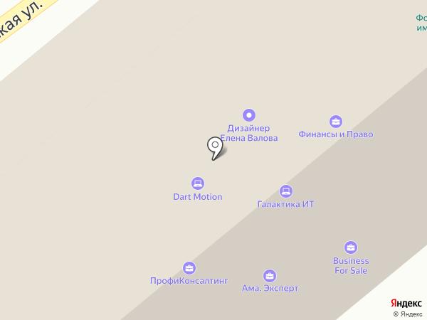 СКБ Контур на карте Москвы
