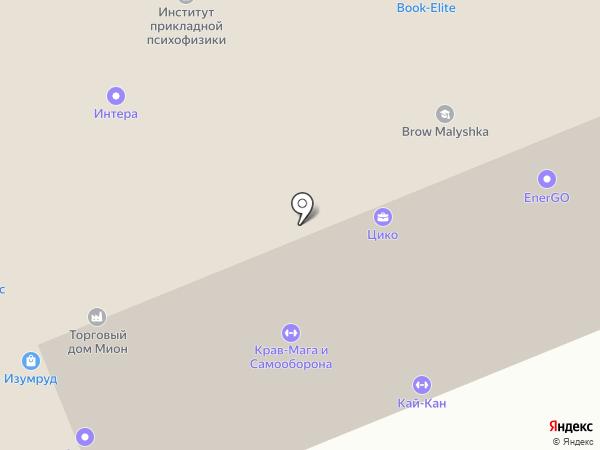Западный дракон на карте Москвы