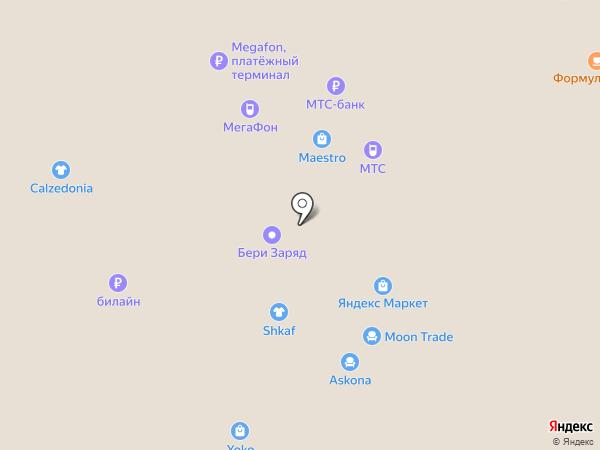 Intimissimi на карте Москвы
