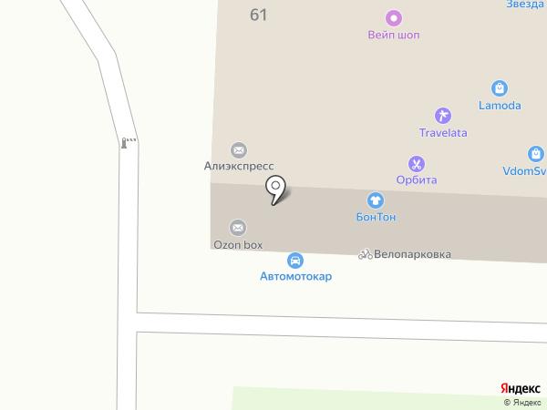 Центр бытовых услуг на карте Москвы