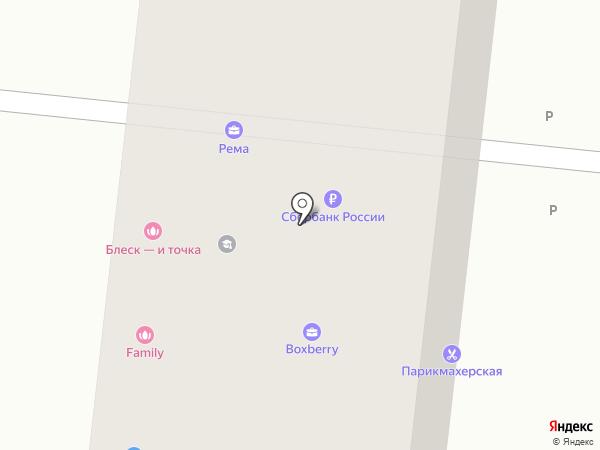 Мебельный магазин на карте Москвы