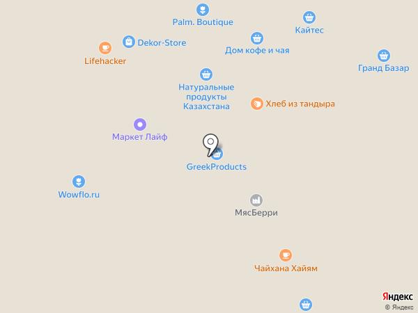 Мега-Цвет на карте Москвы