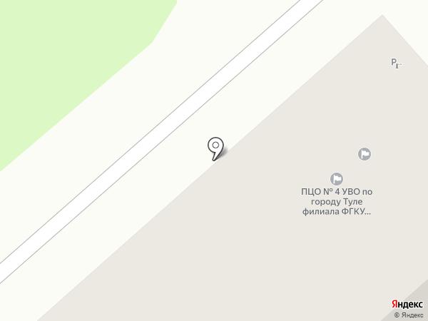 Отдел вневедомственной охраны на карте Тулы