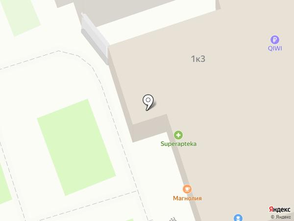 У дома на карте Москвы